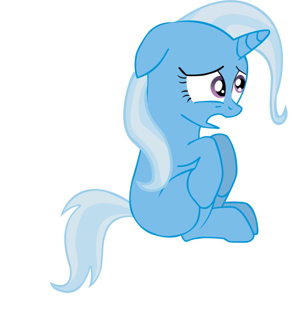 trixie vector sad