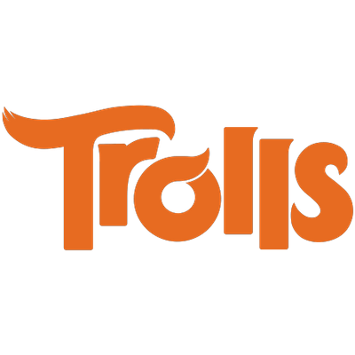 Trolls logo png. Troll creek transparent stickpng