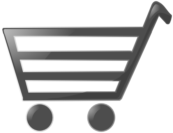 Trolley vector animated. Shopping cart clip art