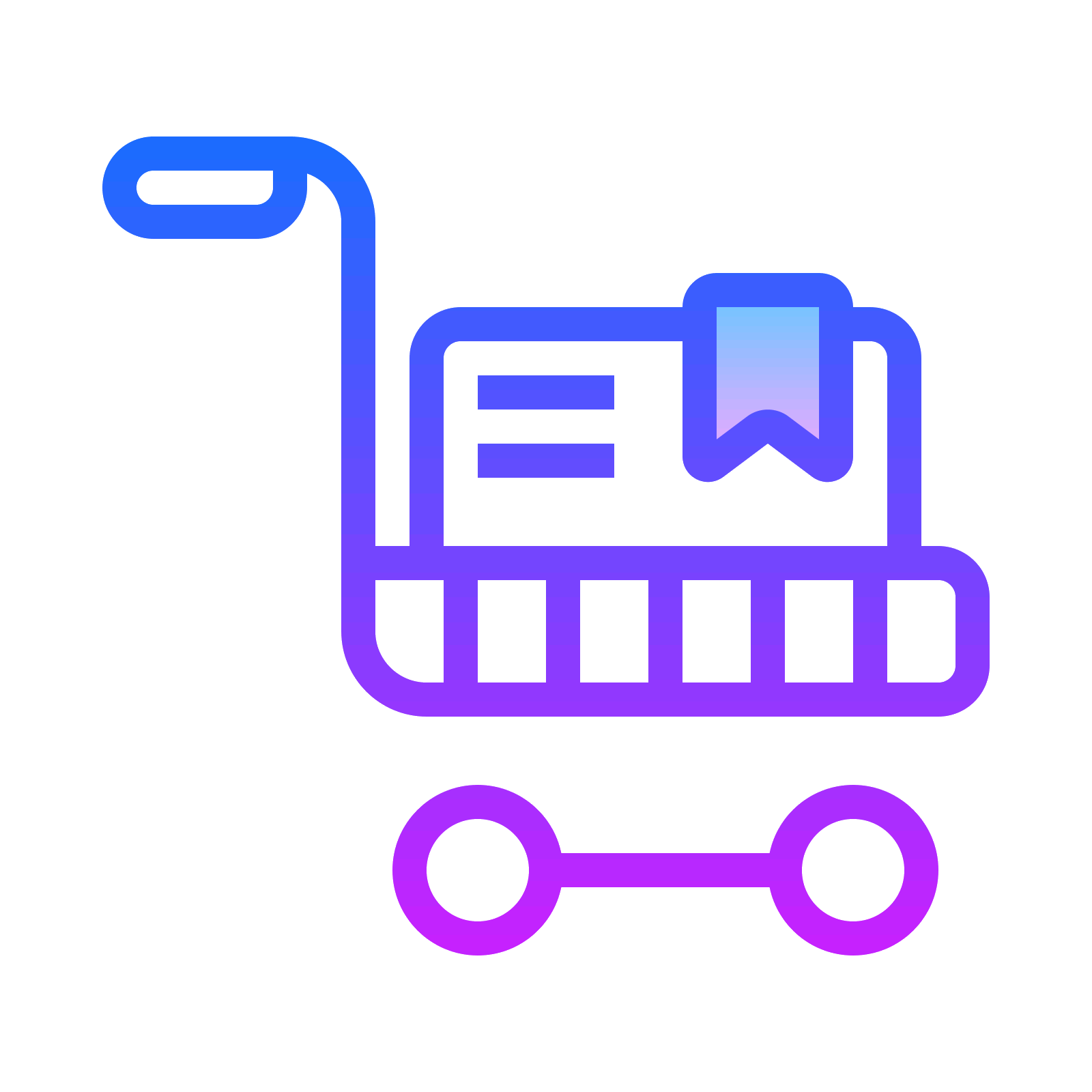 Trolley vector full. Icon free download png