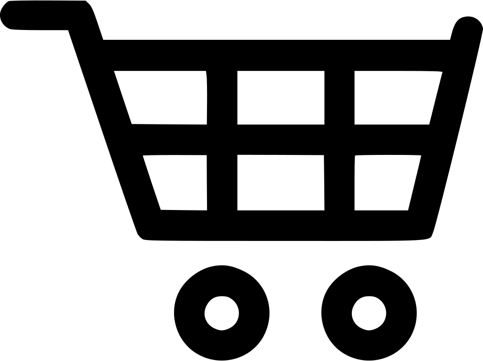 Trolley vector empty. Cart svg png icon