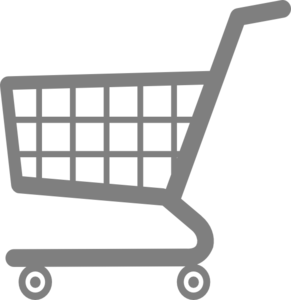 Trolley vector grocery cart. Shopping clip art at