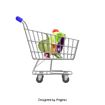 Trolley vector red. Supermarket png vectors psd