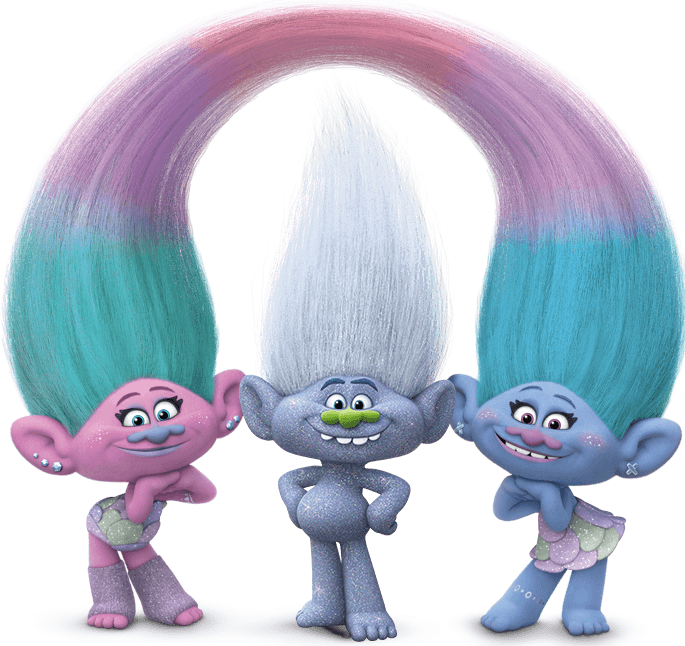 Dreamworks trolls characters png. Hd transparent images pluspng