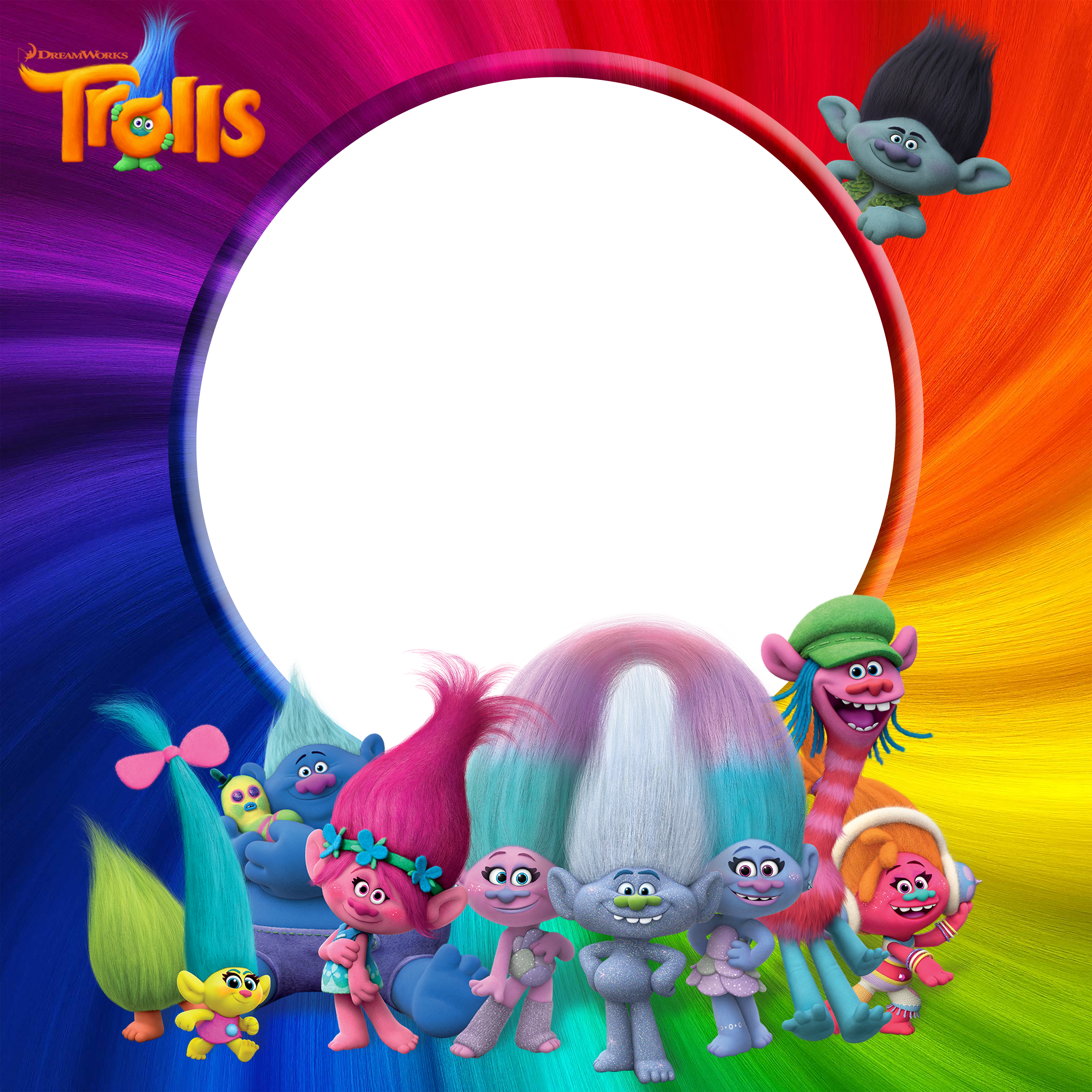 Trolls clipart png. Transparent frame gallery yopriceville