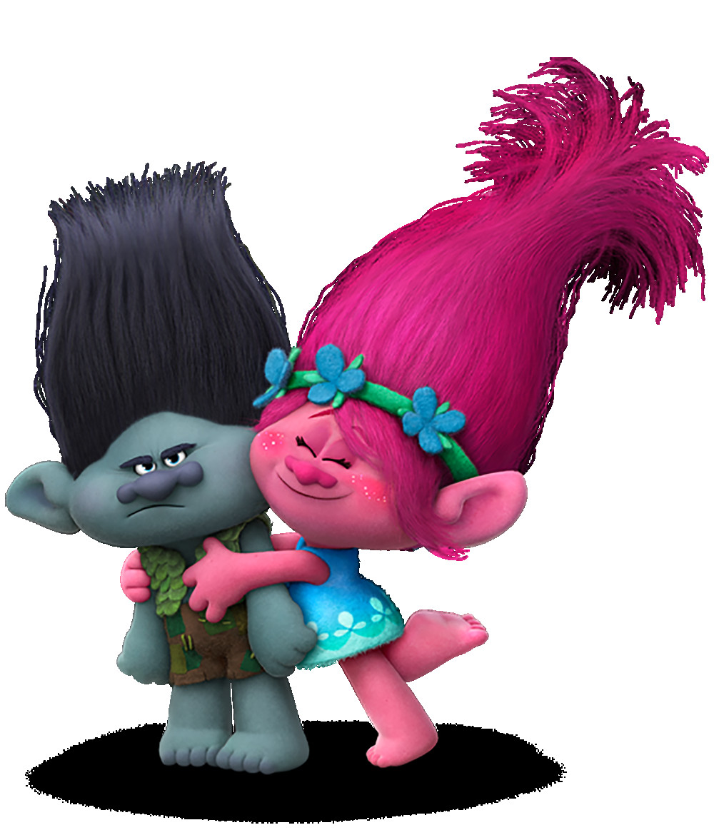 Trolls clipart poppy. Branch and transparent png
