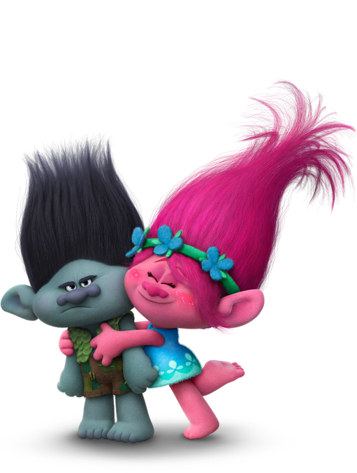 Trolls movie characters png. Find your inner troll