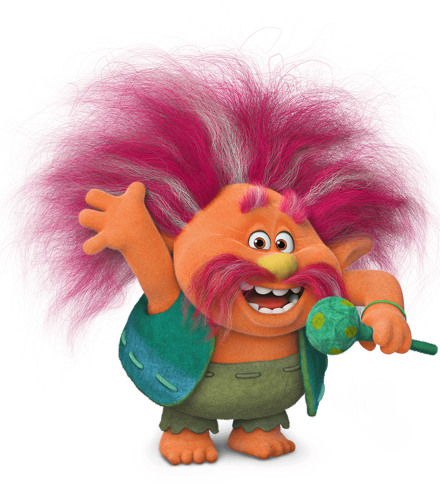 Trolls characters png. King peppy dreamworks animation