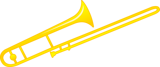 Trombone clipart marching band instrument. Design quilts pinterest and