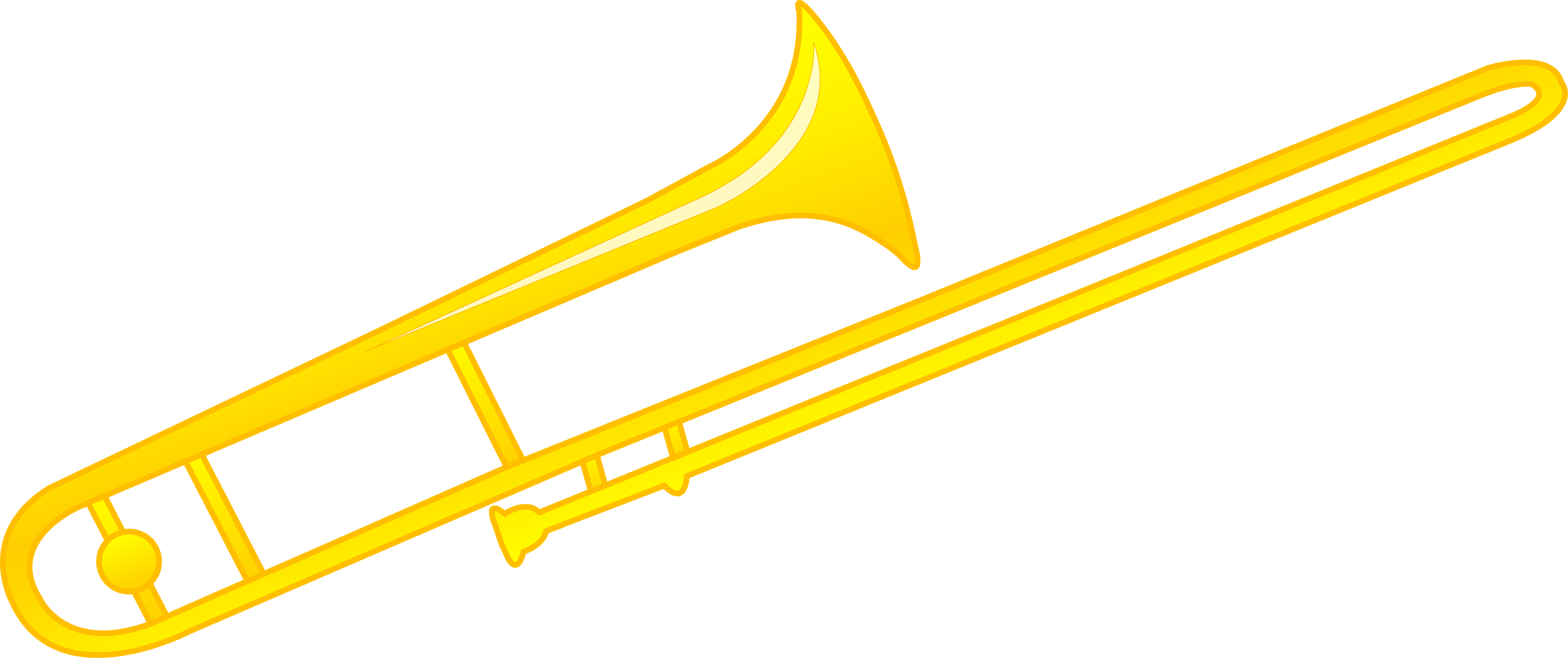 trombone vector animated