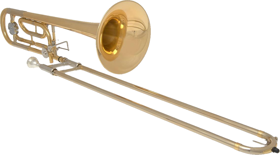 Trombone clipart instrument. Png image purepng free