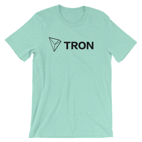 Tron coin logo png. T shirt trx products