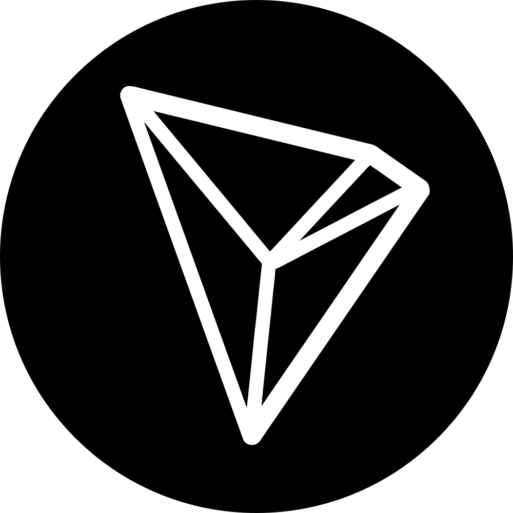 Tron coin png. Make web decentralized again