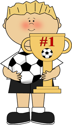 Trophy clipart boy. Mycutegraphics sports gin stica