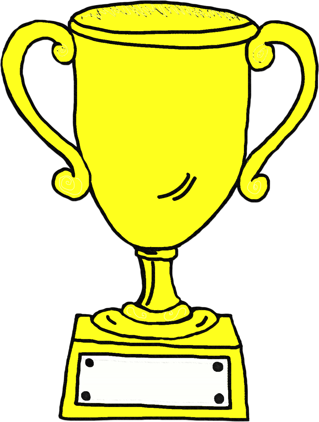 Trophy clipart drawing. T shirt template clip