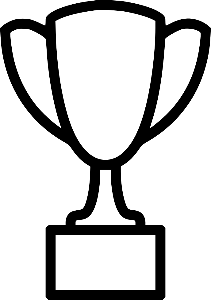 Trophy Drawing Transparent Clipart Free Download