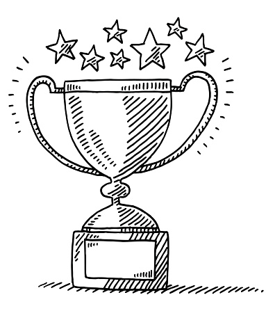 Trophy clipart drawing. At getdrawings com free