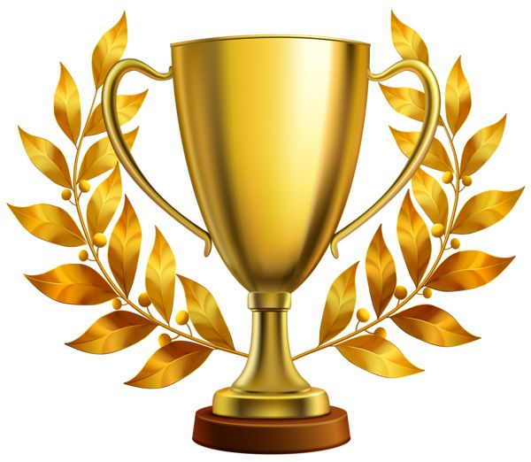 Trophy clipart leave. The best awardy images
