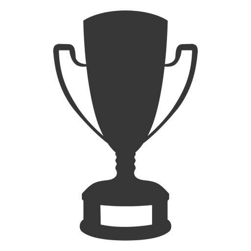 Trophy transparent png svg. Vector award silhouette jpg transparent download