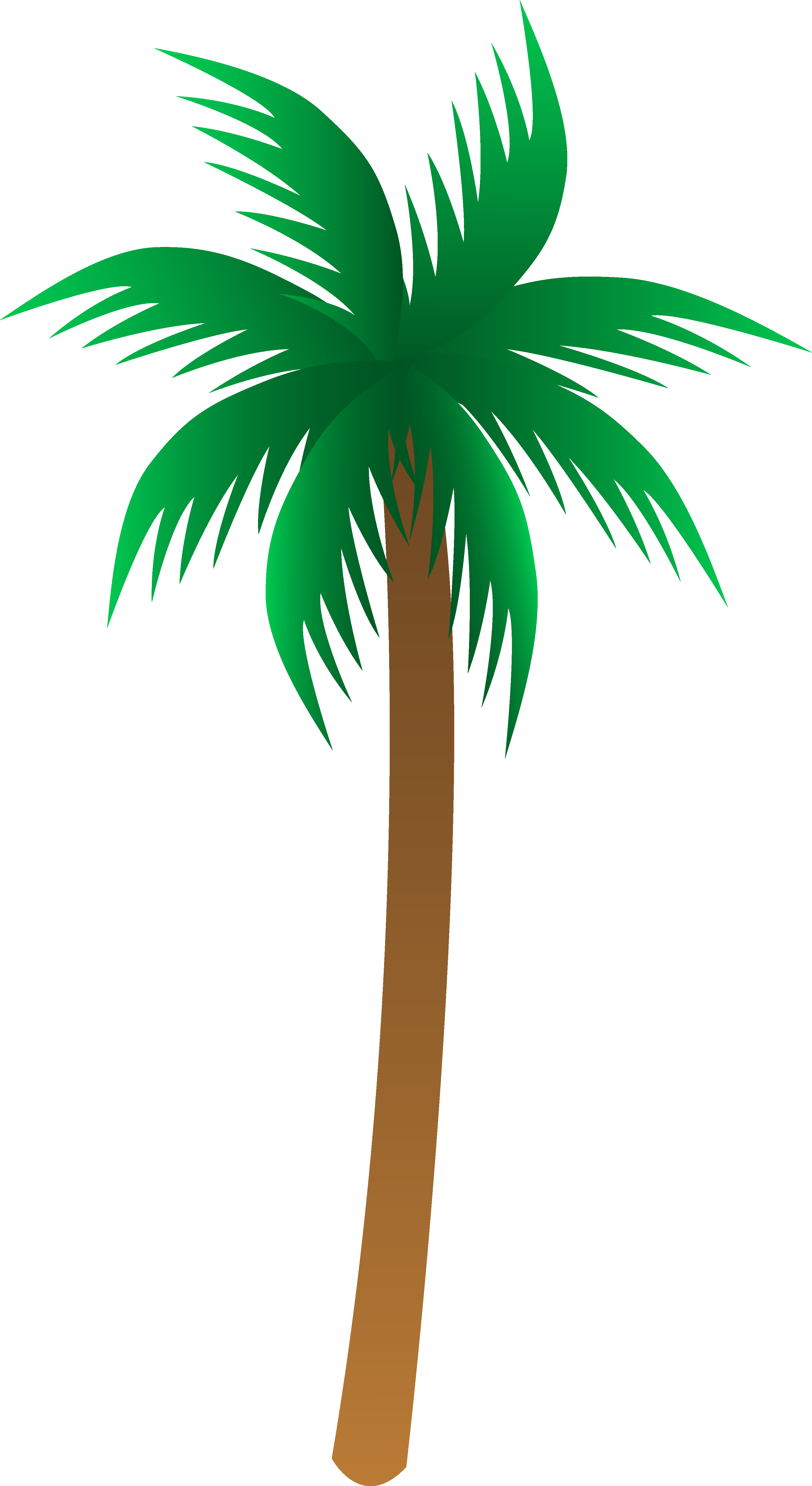 Tropical leaves clipart at. Palm leaf drawing png clip black and white download