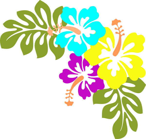Tropical clipart png. Flowers clip art at