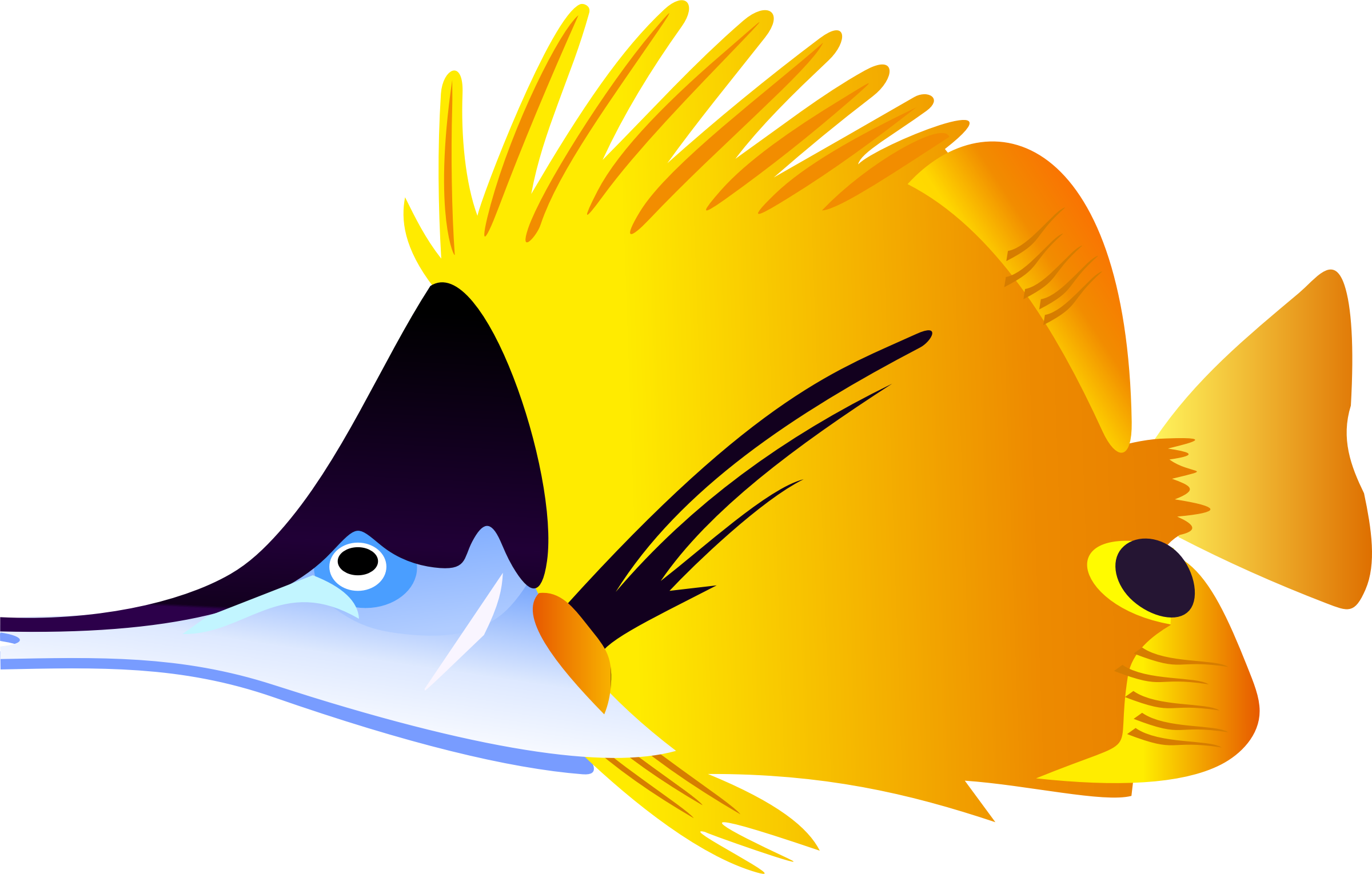 Tropical fish png. Saltwater clipart at getdrawings