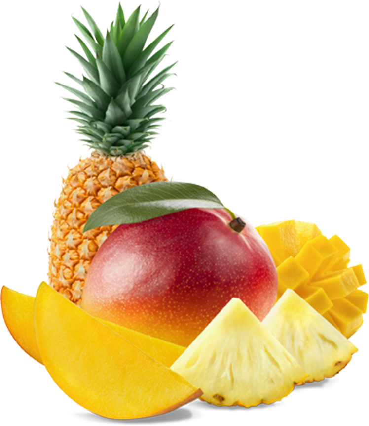 Tropical fruit png. Soly import summer fruits