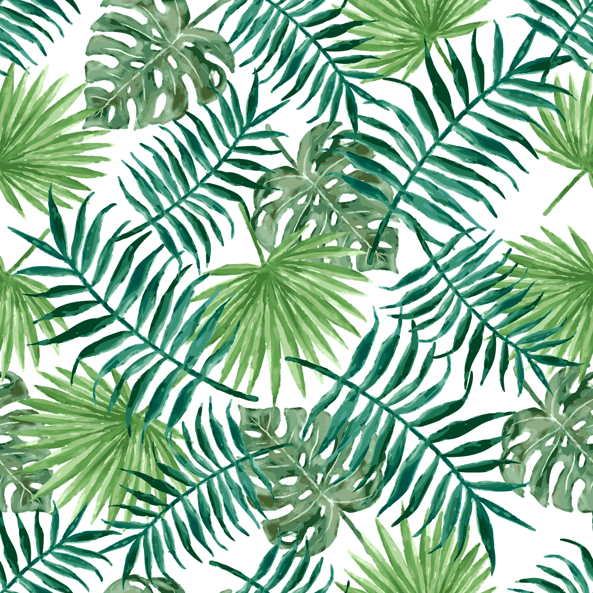 Tropical leaf pattern png. Style texture deo pl