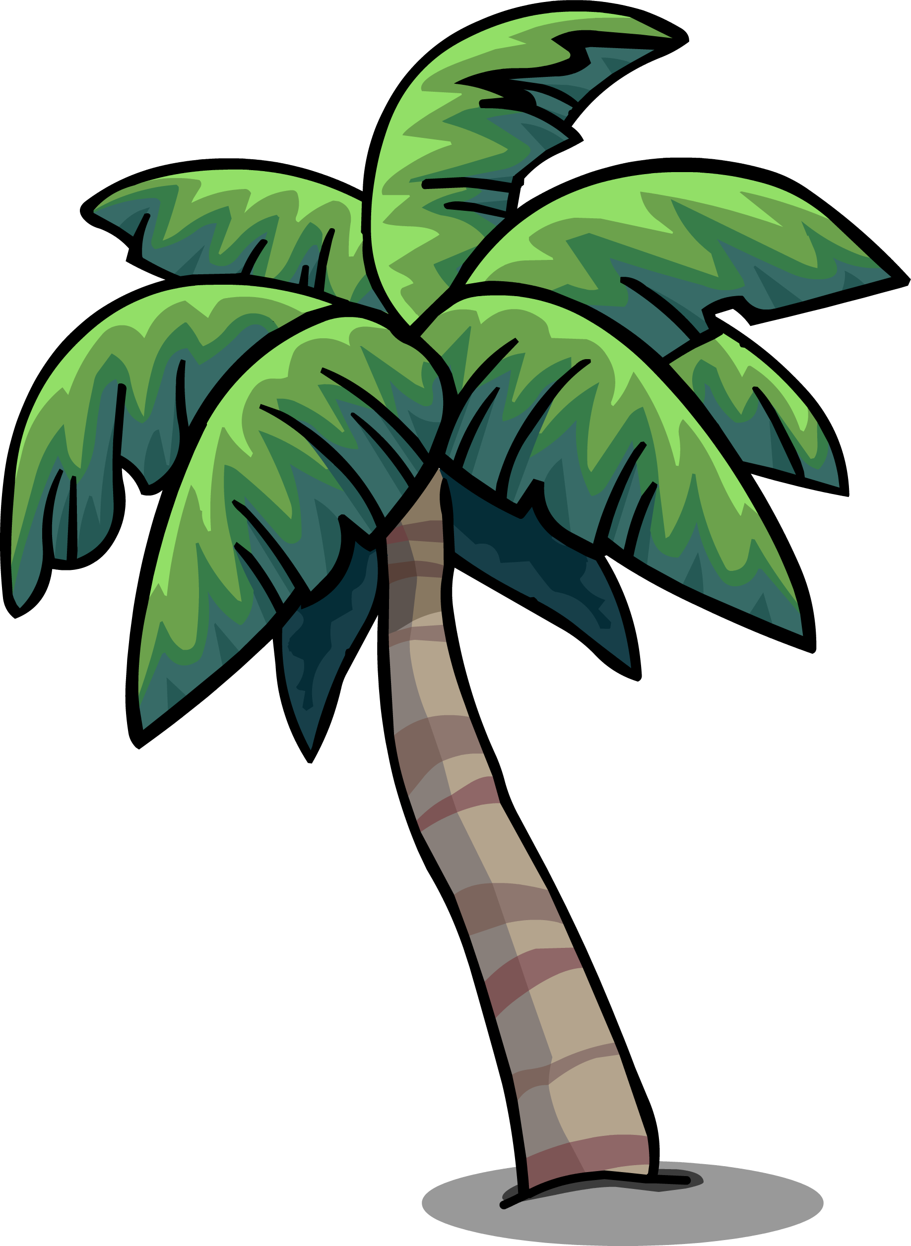 Tropical palm png. Image sprite club penguin