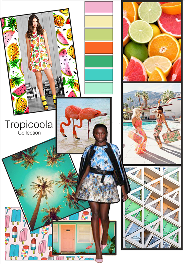 Tropical print png. On behance