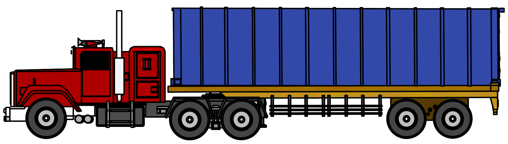Truck clipart. Industrial big png image