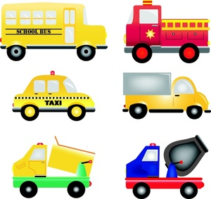 Truck clipart animated. Vehicles image cartoon trucks