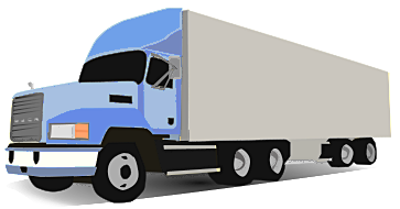 Truck clipart animated.