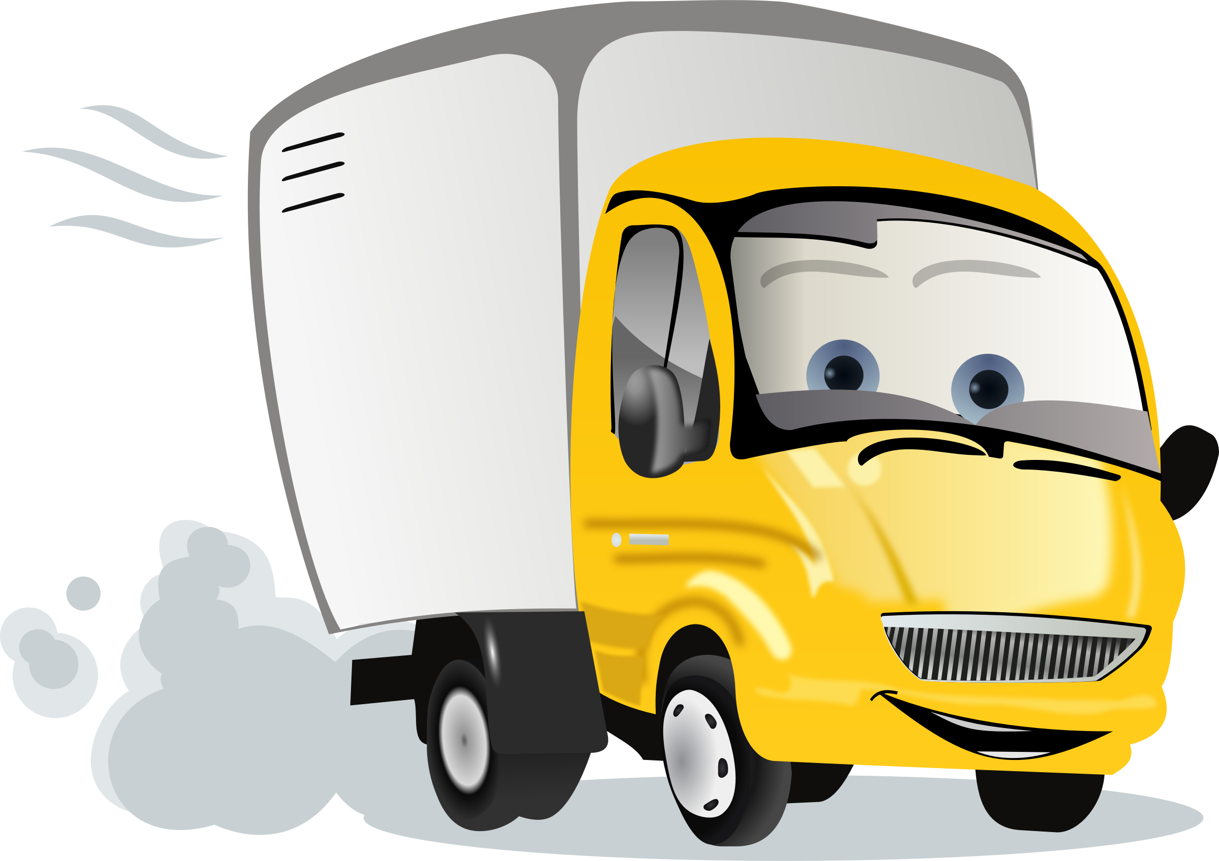 Truck clipart animated. Cartoon trucks image group