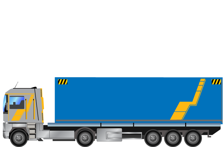 Truck clipart container truck. Png download image vector