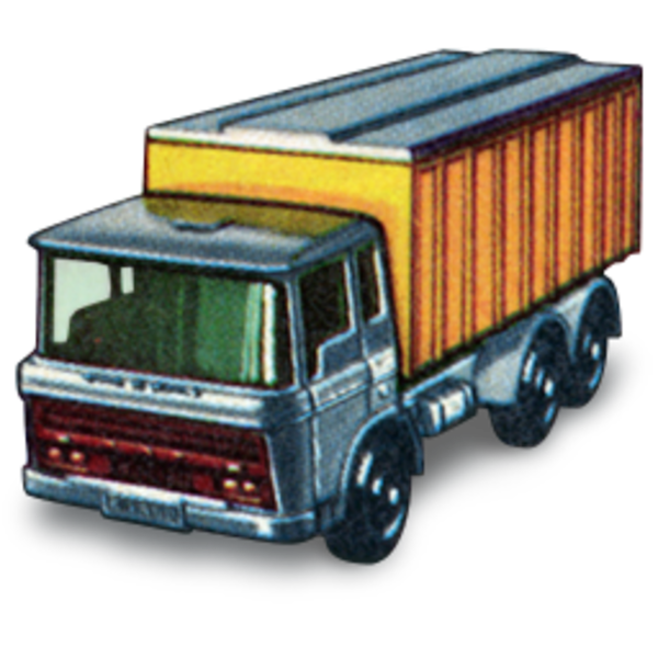 Truck clipart container truck. Daf tipper icon free