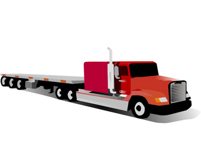 Truck clipart container truck. Panda free images info