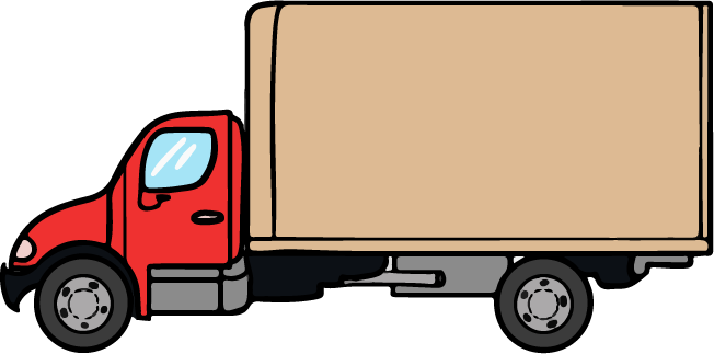 Semi clipart container truck. Free images clipartix