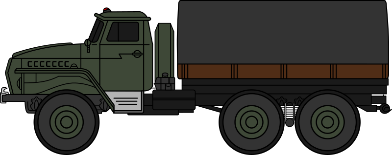 Truck clipart soldier. Soldiers pencil and in