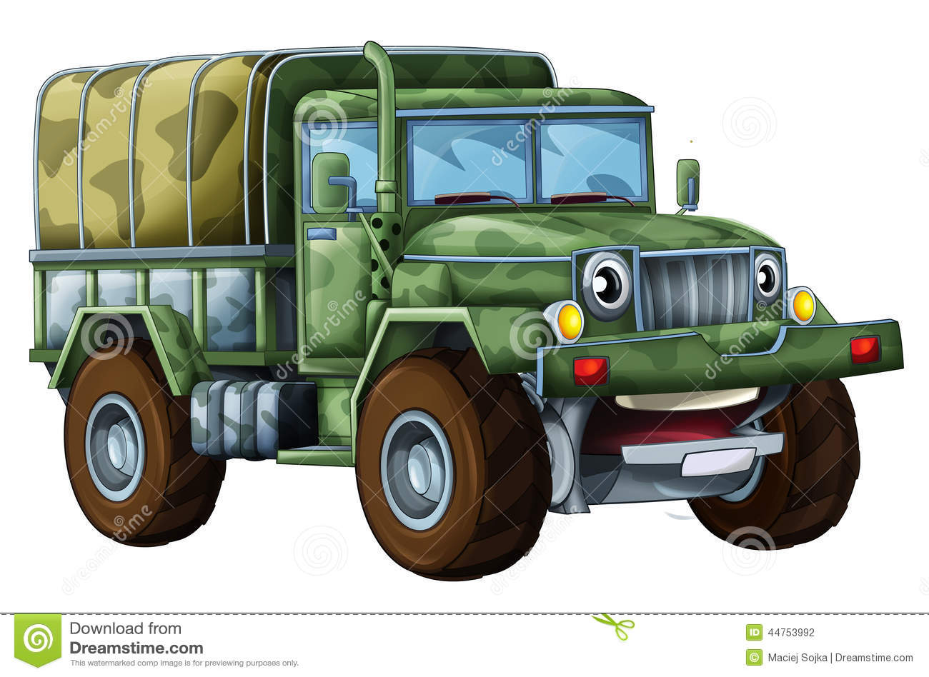 Truck clipart soldier. Pencil and in color