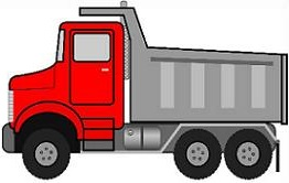 Truck clipart. Free construction dump