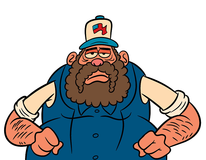 Truck driver png. Image uncle grandpa wiki