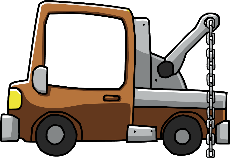 Truck png clipart. Image tow scribblenauts wiki