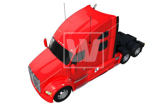 Truck top view png. Semi download high resolution