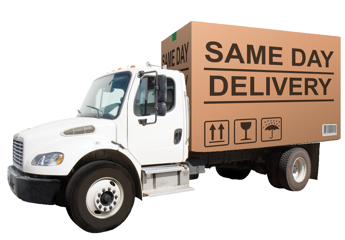 Truck transparent delivery service. Our services skynet express