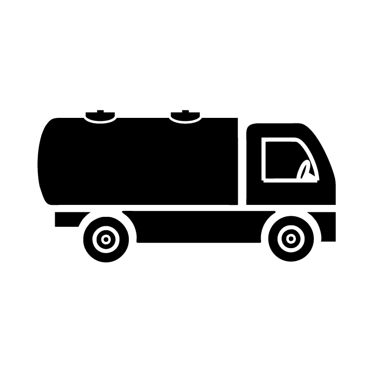 Truck transparent gas. Free icons easy to