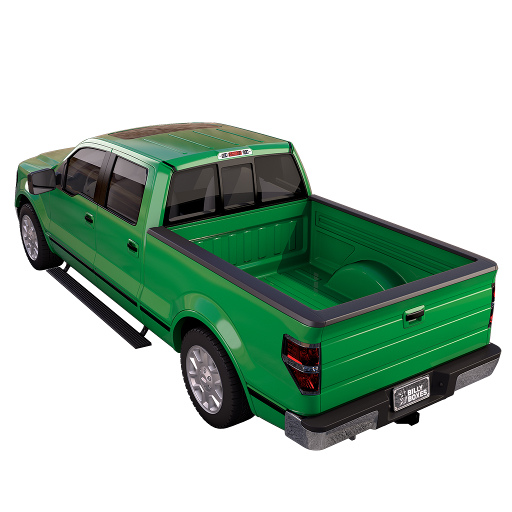 Truck transparent green. Build your billy box