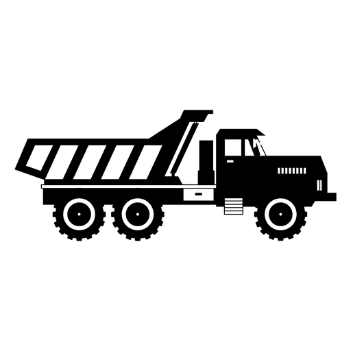 Truck transparent vector. Carryall trasport svg png