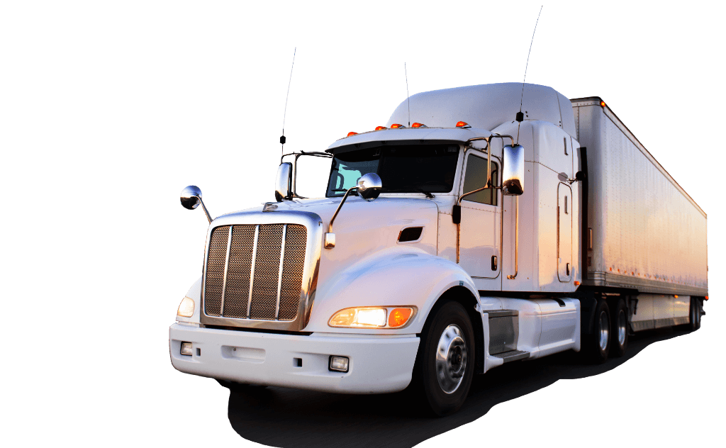 Trucking vector truck usa. Logistics company brokerage firm