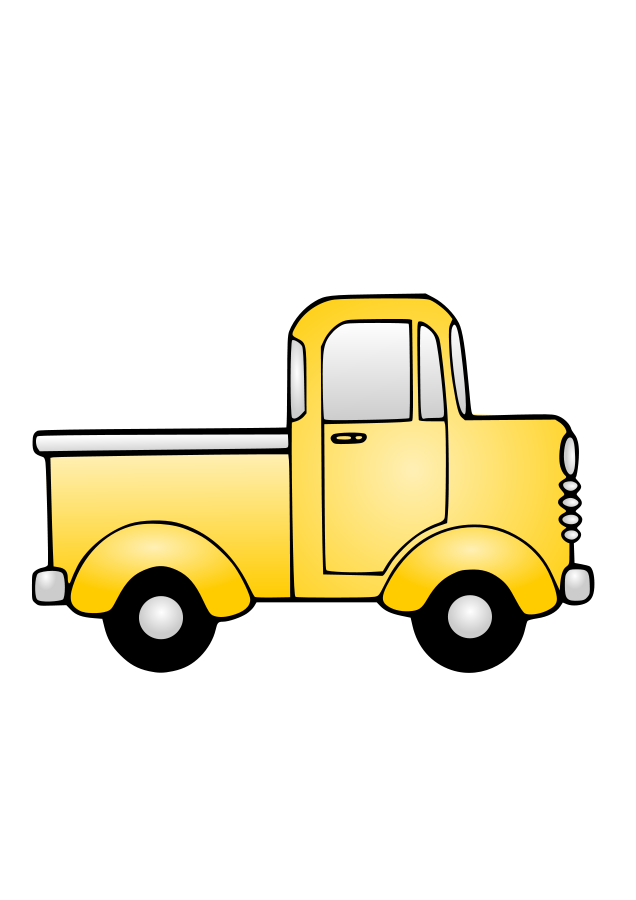 Trucking vector retro. Truck driver clipart at